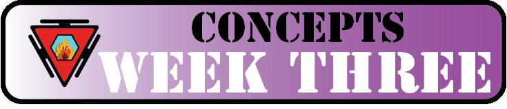 Concepts Week Three