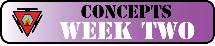 Concepts Week Two